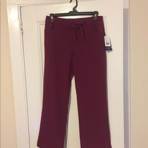 Women Jockey plum berry uniform pants
